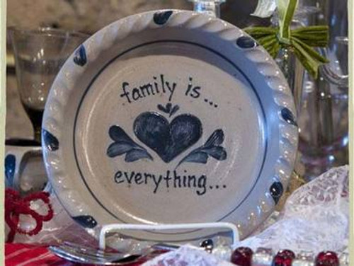 Family is Everything Pie Plate