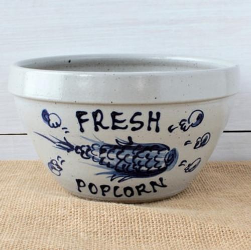 Rowe Pottery Popcorn Bowl