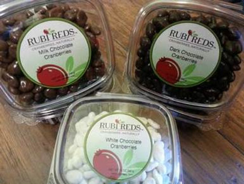 Gourmet Chocolate Covered Cranberries - Set of 2