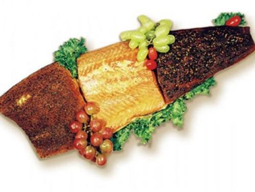 Smoked Atlantic Salmon Sampler