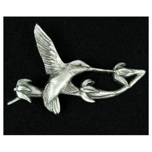 Pewter Pins - Hummingbird