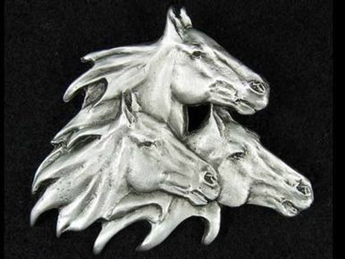 Horse Pins- Pewter
