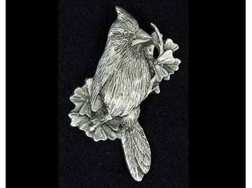 Decorative Pins - Cardinal in Pewter