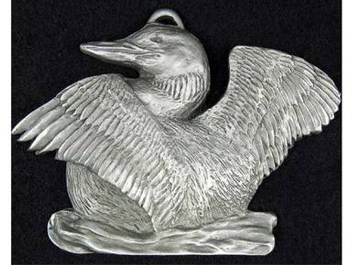 Nature Ornaments in Pewter - Loon