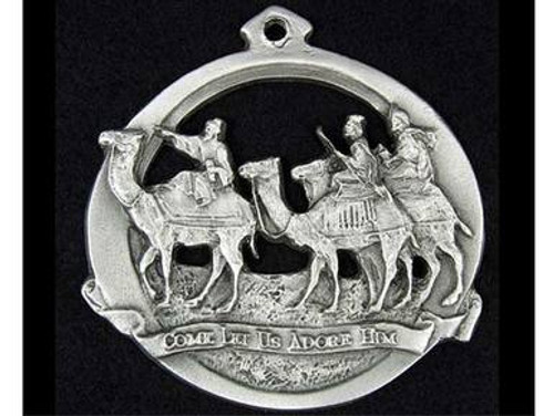 Holiday Pewter Ornaments - Wise Men