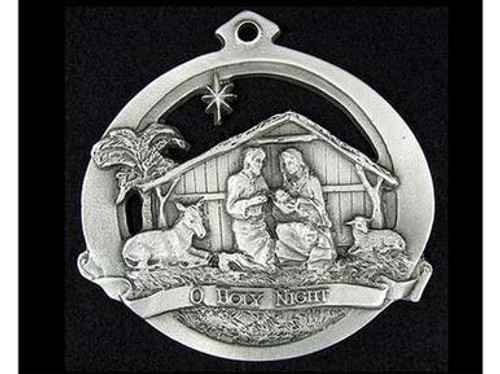 Pewter Holiday Ornaments - O Holy Night
