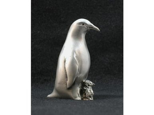 Pewter Figurine - Penguin and Chick