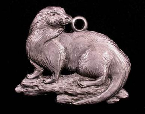 Pewter Ornament - Otter