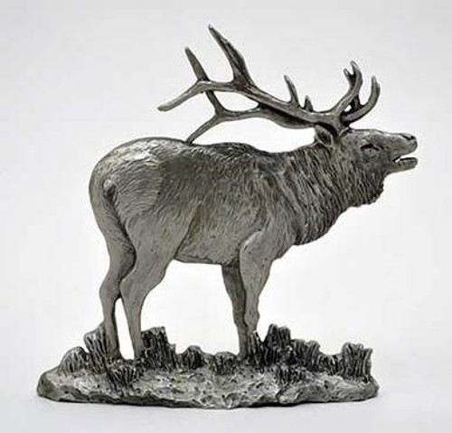Pewter Shelf Accent - Elk