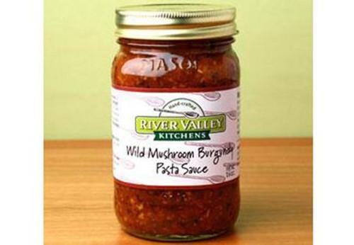 Wild Mushroom Burgundy Pasta Sauce