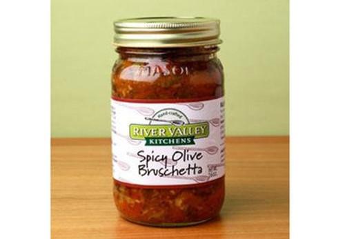 Spicy Olive Bruschetta