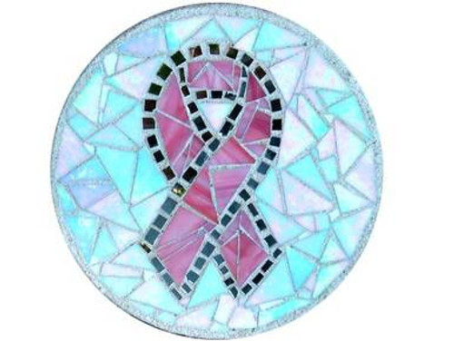 Pink Ribbon Stepping Stone