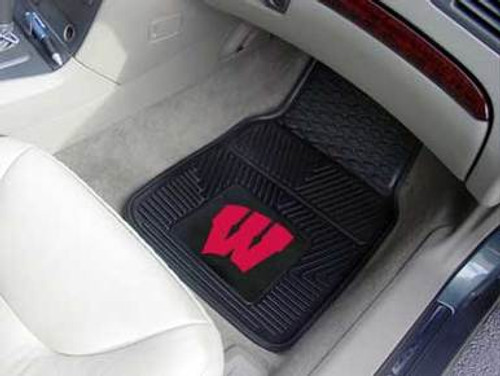 Wisconsin Badgers Fanmat Car Mats