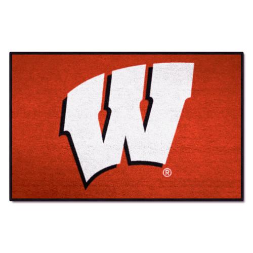 Wisconsin Badgers Fanmat Door Mat