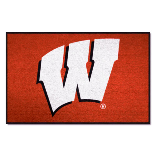 Wisconsin Badgers Fanmat Door Mat