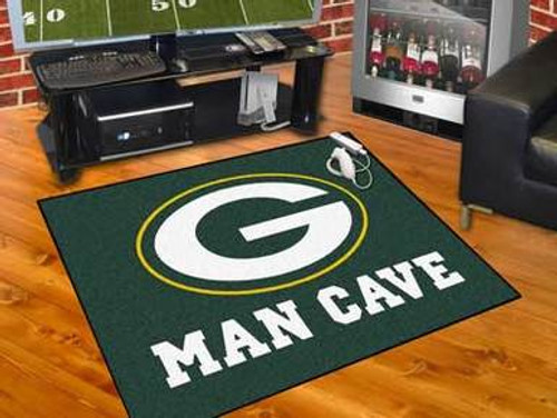 Packers Man Cave Mat - Large Size
