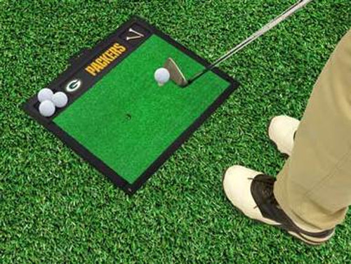 Packers Golf Hitting Mat