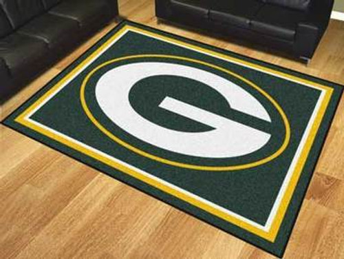Green Bay Packers Rug - 8 x 10