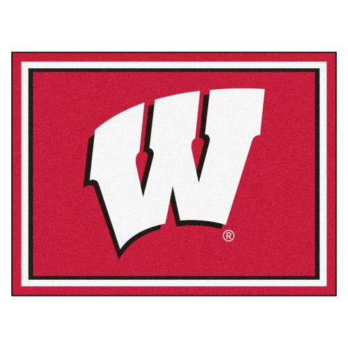 University of Wisconsin Rug - 8 x 10