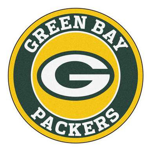Green Bay Packers Round Floor Mat
