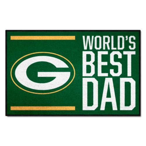 Packers Best Dad Floor Mat