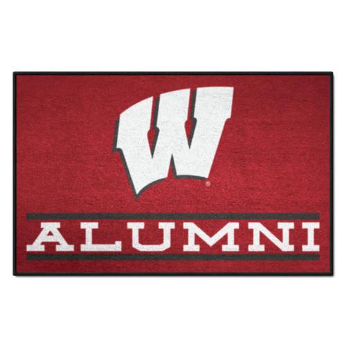 University of Wisconsin Alumni Floor Mat