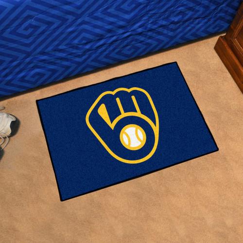 Milwaukee Brewers Fanmat Door Mat