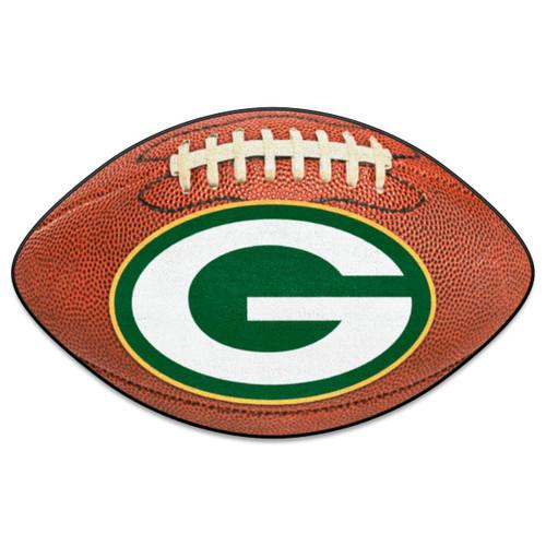 Green Bay Packers Fanmat Ball-Shaped Rug