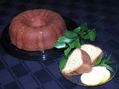 Lemon Citrus Rum Bundt Cake