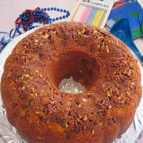 Orange Crunch Cake with Orange Cream Vodka