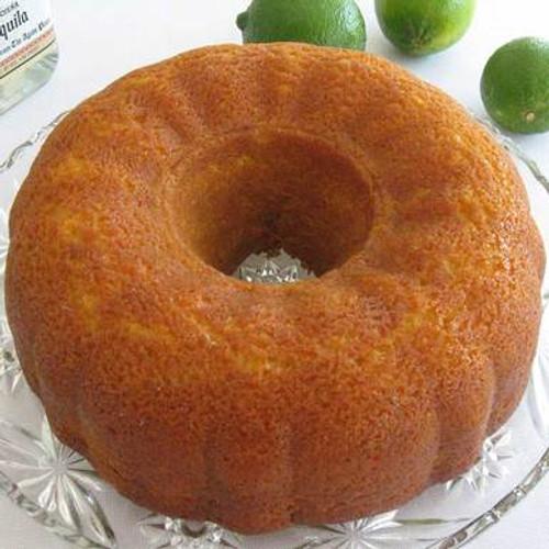 Lime Margarita Cake with Premium Tequila