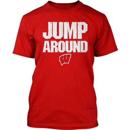Wisconsin Jump Around Tee - Mens