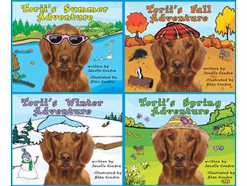 Torii's Adventures - 4 Book Set