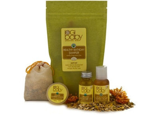 Organic Baby Healthy Bathday Sampler