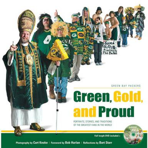 Green, Gold, and Proud - Packers DVD and Paperback Book Set