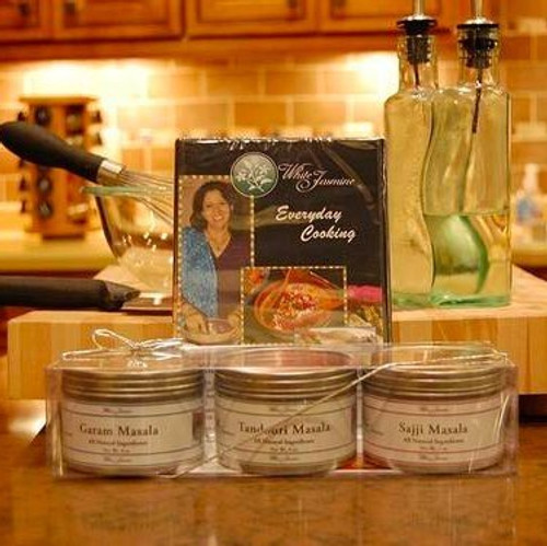 White Jasmine Spice and DVD Holiday Gift Set