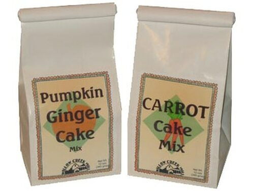 Carrot Cake and Pumpkin Ginger Cake Mix Duo