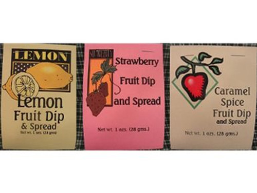 Fruit Dip Mix Assortment