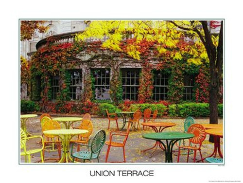 Wisconsin Union Terrace Poster