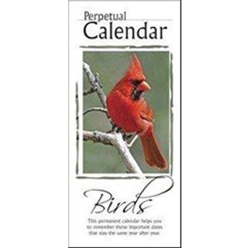 Perpetual Calendar - Birds