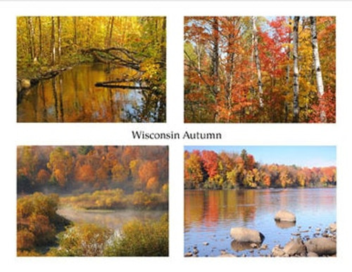 Photo Note Cards - Wisconsin Autumn