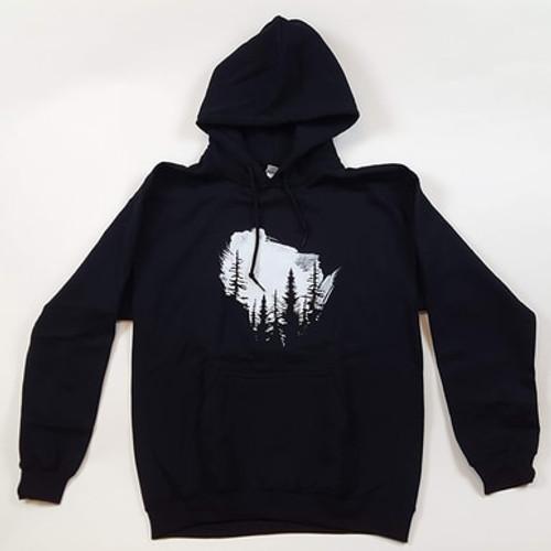Wisconsin Northwoods Sweatshirt with hood and pocket