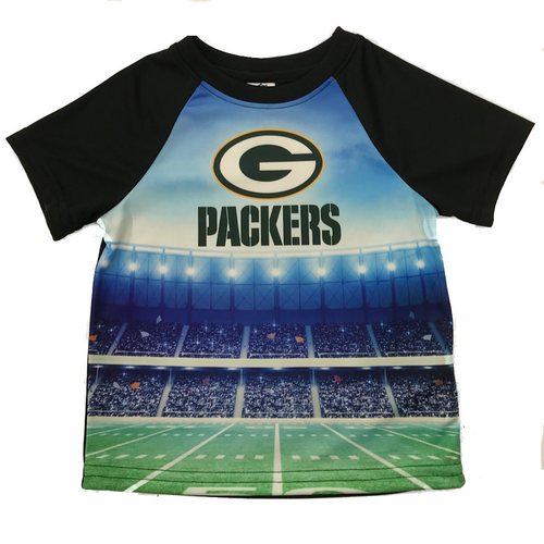 Green Bay Packers Infant Synthetic Stadium T-shirt