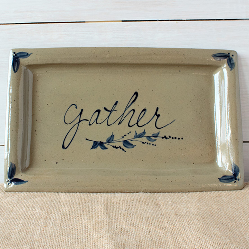 Rowe Pottery Seasonal Platter