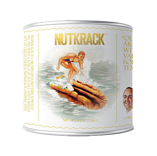 Nutkrack Classic Candied Pecans - 4 ounce can