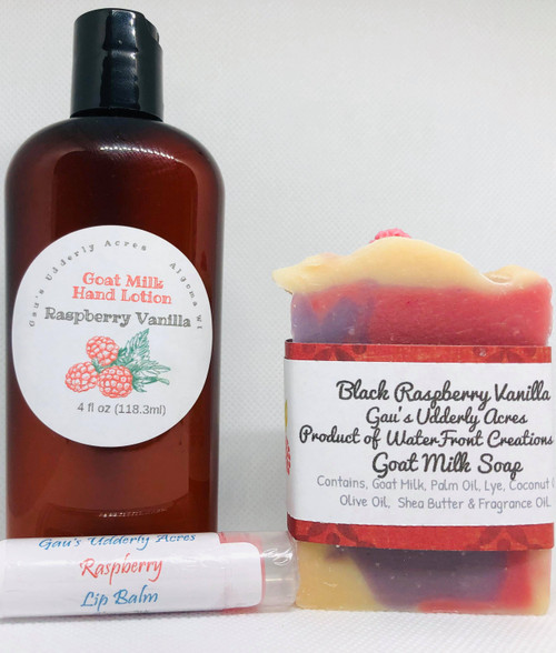 WaterFront Creations - Self Care Kit - Raspberry Vanilla