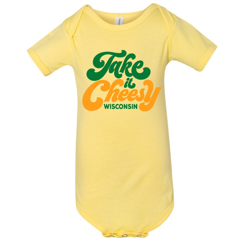 GILTEE - Take It Cheesy Infant Onesie