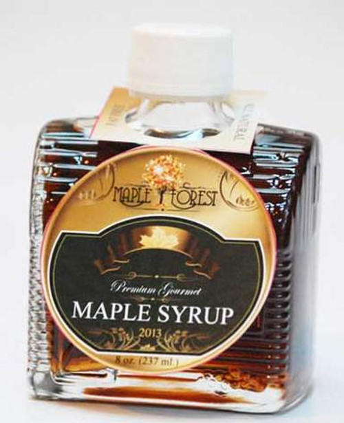 Pure Maple Syrup - Glass Cabin Bottle