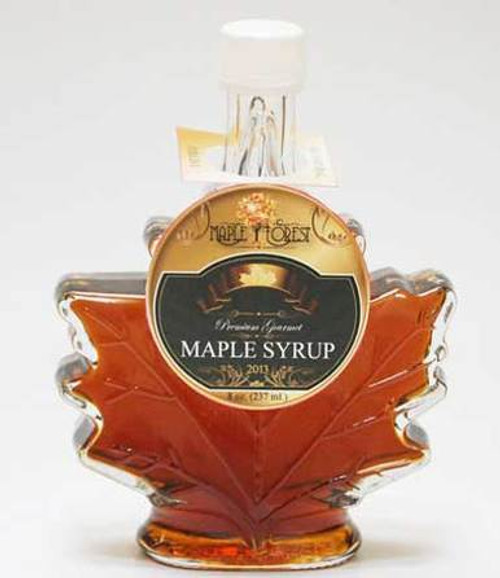 Pure Maple Syrup - Maple Leaf Bottle