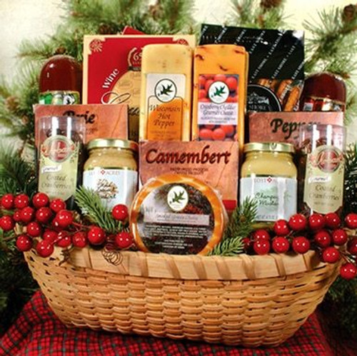 Northwoods Bounty Cheese Gift Basket